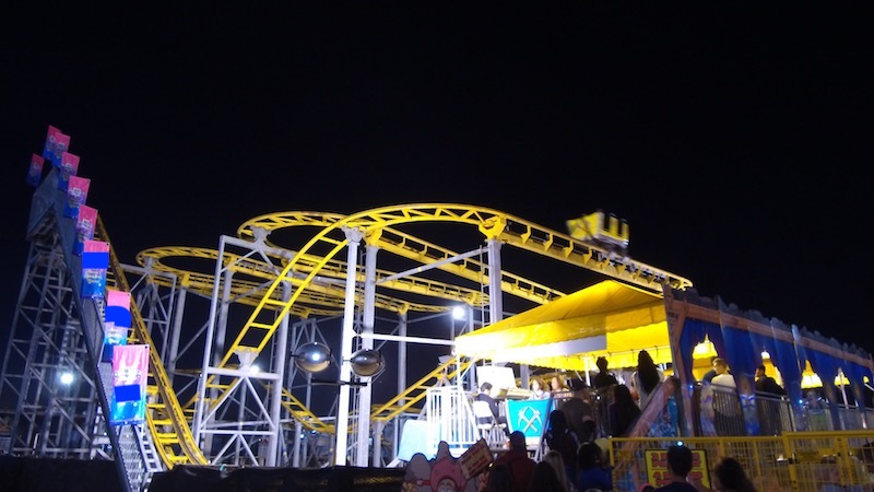 Carnival Rides : Wild mouse